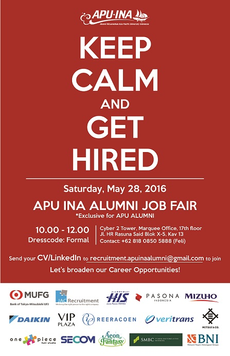 (Web)APU INA ALUMNI JOB FAIR 2016-01